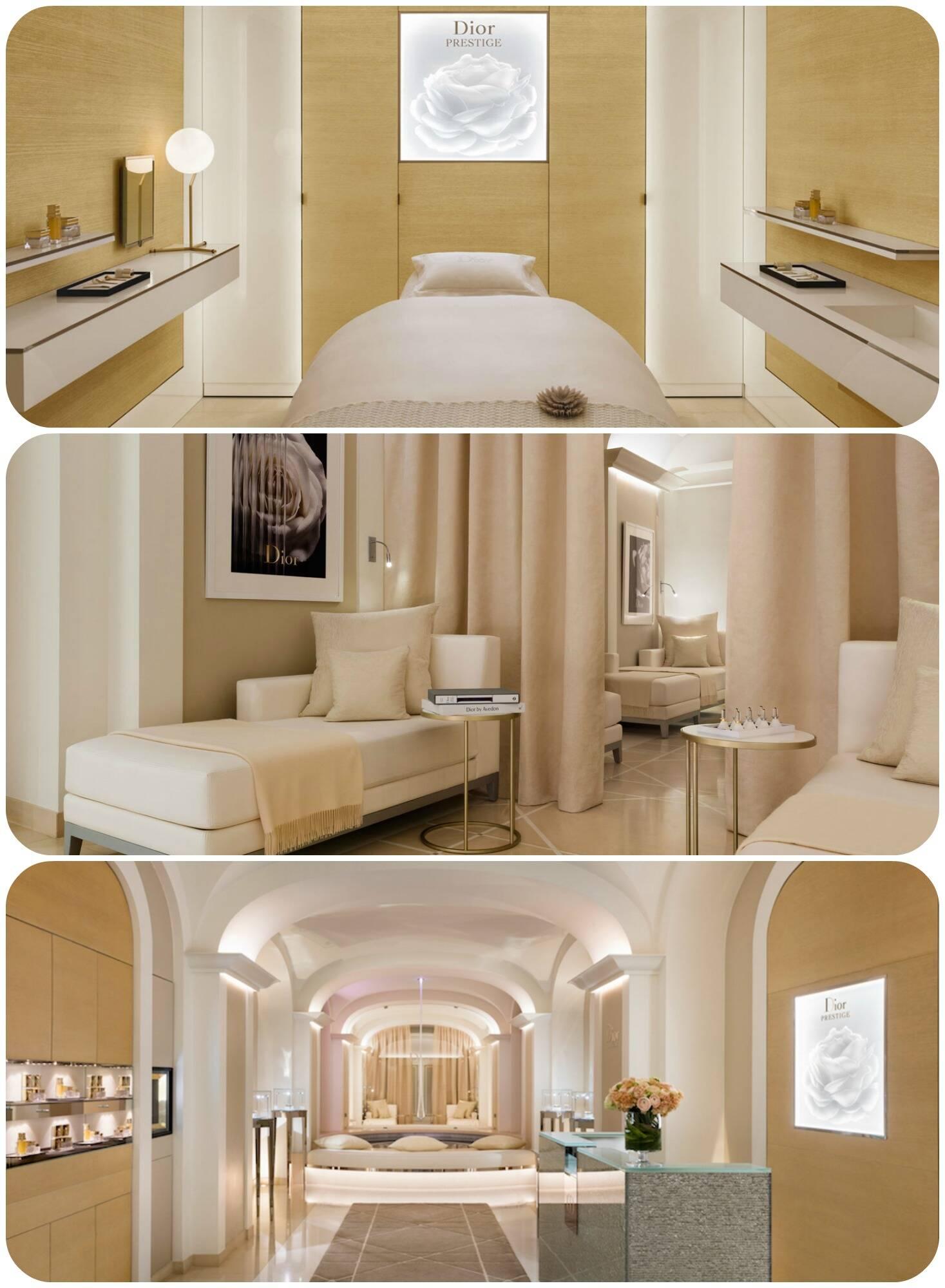 O Dior Institut, no Plaza Athénée, em Paris, foi reformado e agora tem uma área dedicada apenas ao tratamento de beleza
