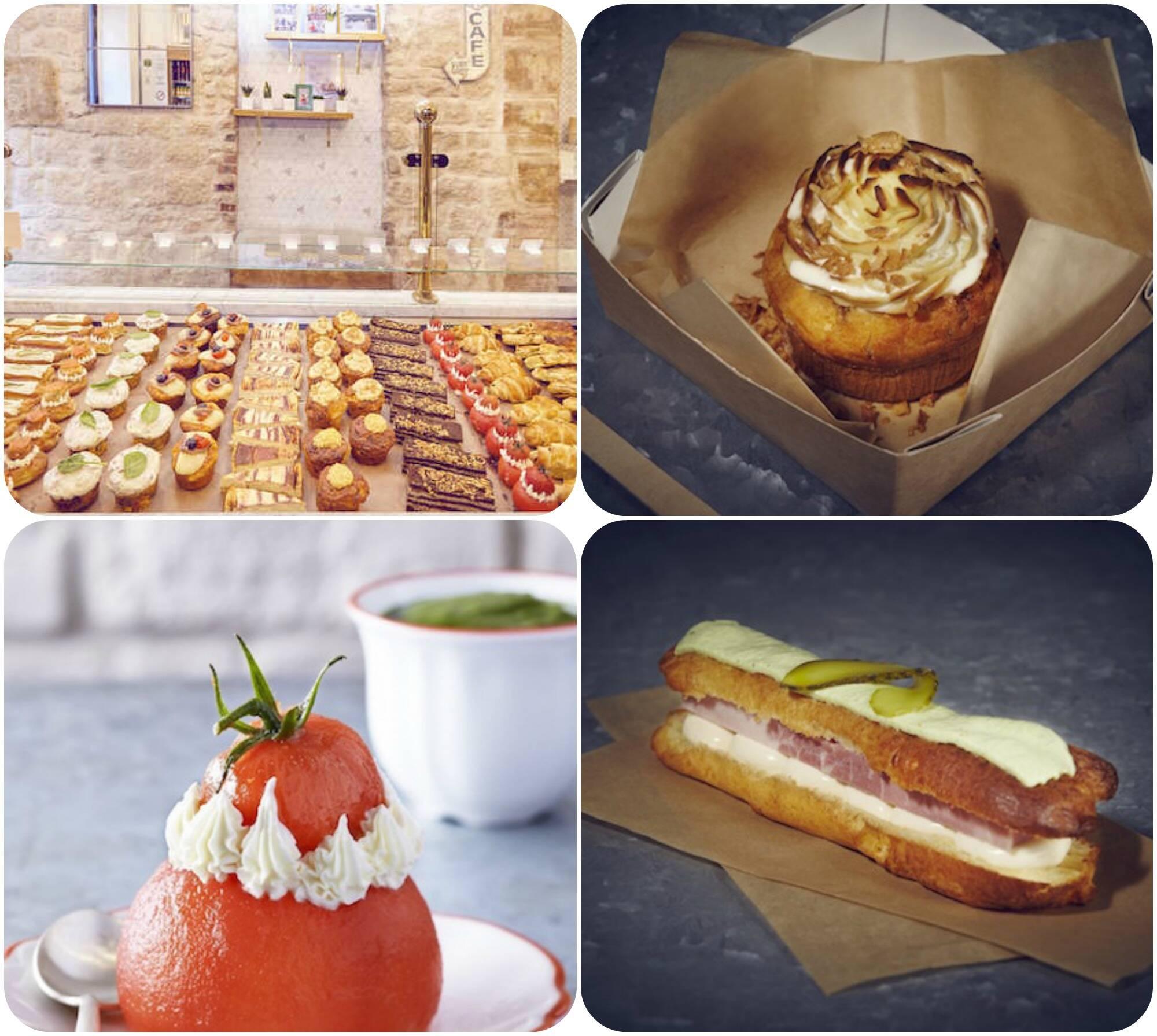 A boutique Privé de Desert, em Paris, cria salgados lindos e deliciosos com cara de doce