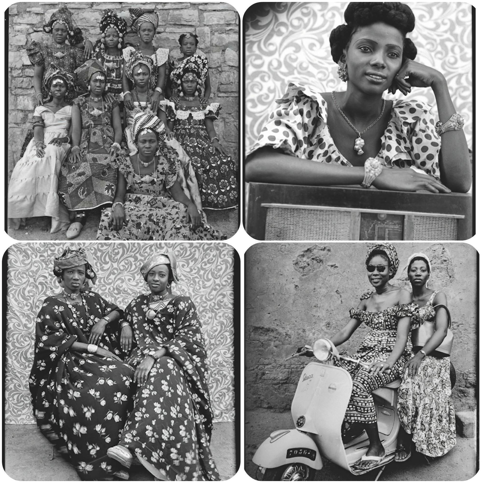 Seydou Keifa inaugura exposição no Grand Palais, com suas imagens modernas em preto e branco