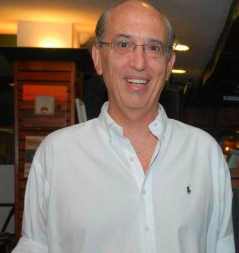 Luiz Alfredo Taunay: ex-presidente do Jockey volta a concorrer com o atual, Carlos Palermo / Foto: Vera Donato