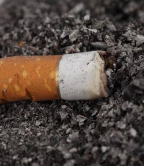 toco de cigarro