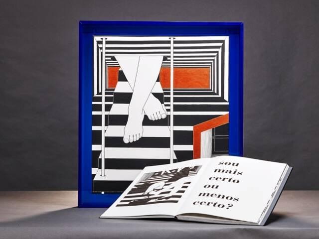 Livro sobre a arte de Wanda Pimentel: sucesso inesperado na SP Arte / Foto: divulgação