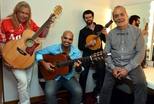 Victor Biglione, Marcel Powel, e Gilson Peranzetta / Foto: Cristina Granato