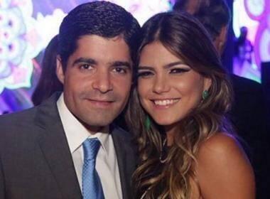 ACM Neto e Tayane Lacerda Canhedo, a Tatá: o prefeito e a publicitárias estão noivos / Foto: reprodução Instagram