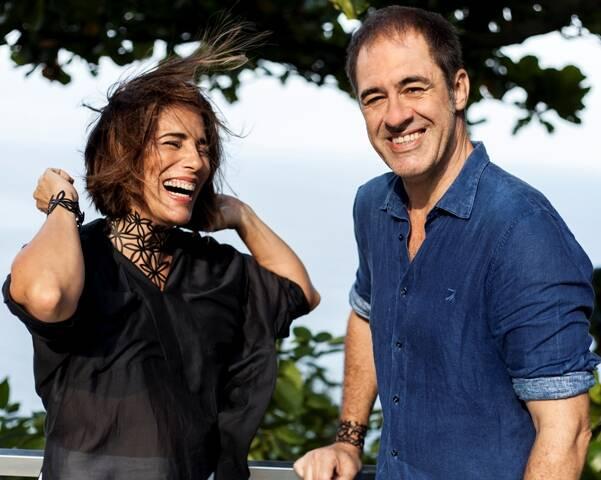 Gloria Pires e Marzio Fiorini: as joias de borracha dele agora podem ser compradas no site da atriz / Foto: divulgação