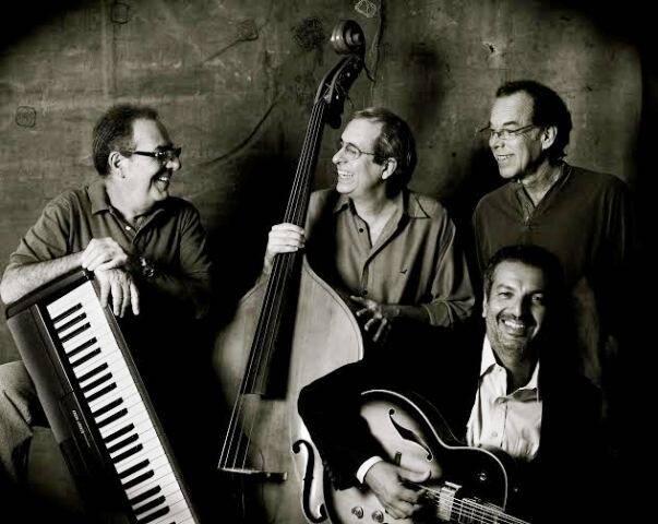 Reinaldo, ao centro, e a Companhia Estadual de Jazz: banda está fazendo sucesso na  Assis     / Foto: divulgação