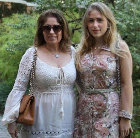 Cristina Lips e a filha, Anne