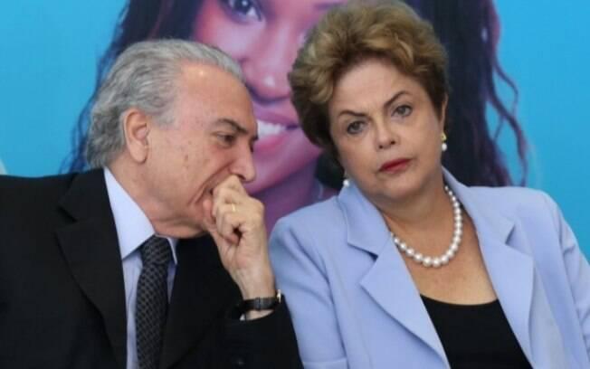 Michel Temer e Dilma Rousseff: em ambos os governos, ministros escolhidos pelo critério do fisiologismo  / Foto: Lula Marques - Agência PT para o IG