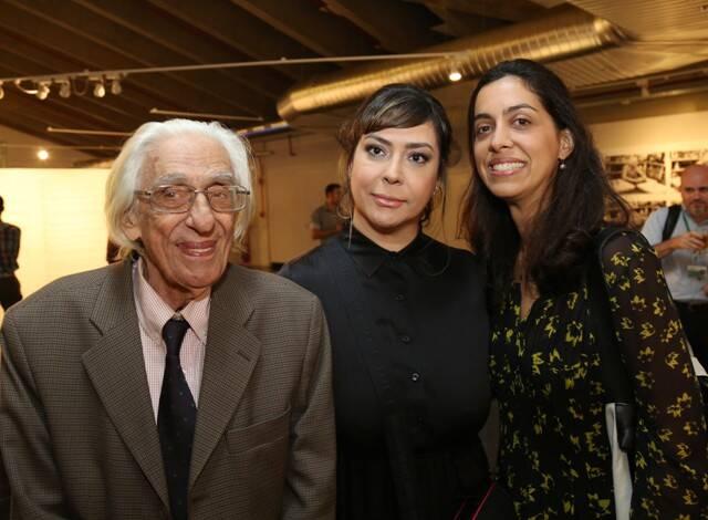 Ferreira Gullar, Cláudia Ahimsa e Ana Cecilia Martins