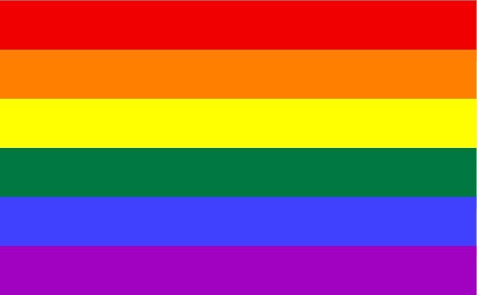 Bandeira GLBT:  começaram a sair aqui e acolá nas redes sociais que os gays não têm do que se queixar, no ministério Temer - ao contrário de mulheres e negros