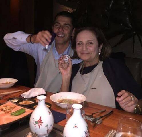 João Ricardo Coelho e Lucinha Araújo: entre os cariocas que estão em longa viagem ao Japão / Foto: Paulo Müller