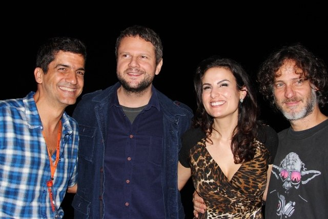 Julio Uchoa, Selton Mello, Ursula Corona e Felipe Reinheimer
