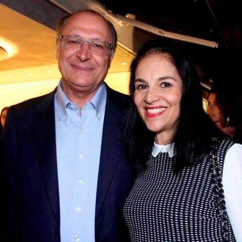 Lu e Geraldo Alckmin