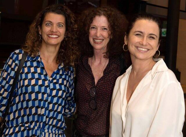 Luciene Ruiz, Tania Chueke e Adriana Rattes