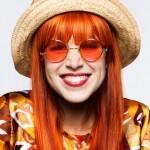 Mel lisboa oculos laranja