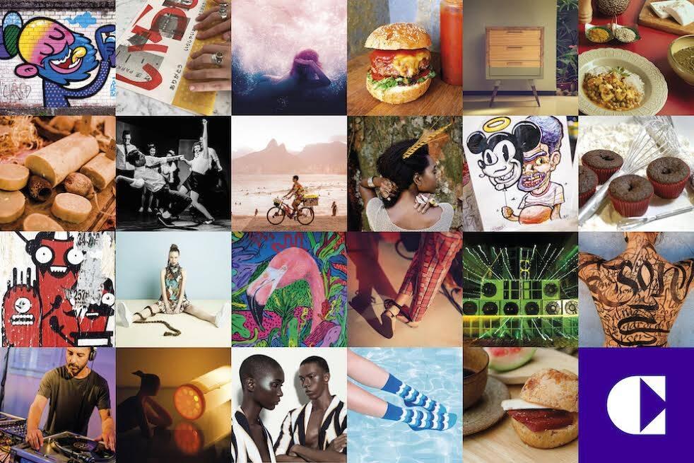 O Cluster: guia vai funcionar como uma agenda alternativa da criatividade carioca / Foto: divulgação