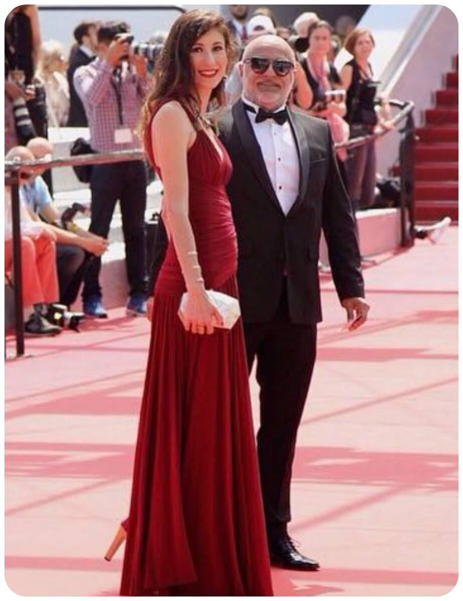 Paulo Pereira com sua amiga Paula Saad. Um dos momentos mais emocionantes para ele
