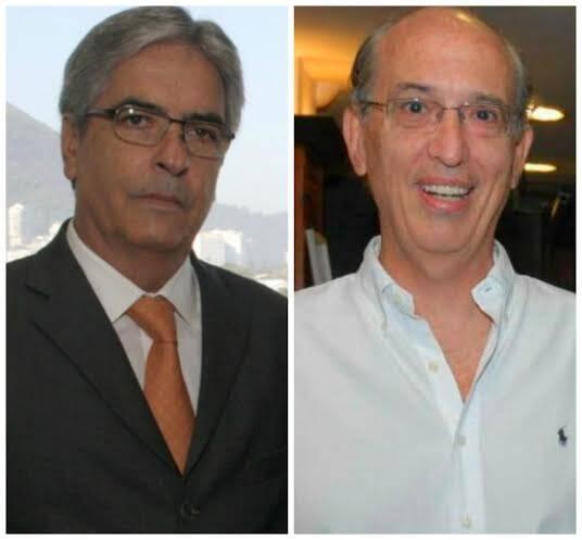 Carlos Palermo e Luiz Alfredo Taunay: respectivamente, atual presidente e ex-presidente tentando a reeleição, clima alto de disputa / Fotos: arquivo Site Lu Lacerda