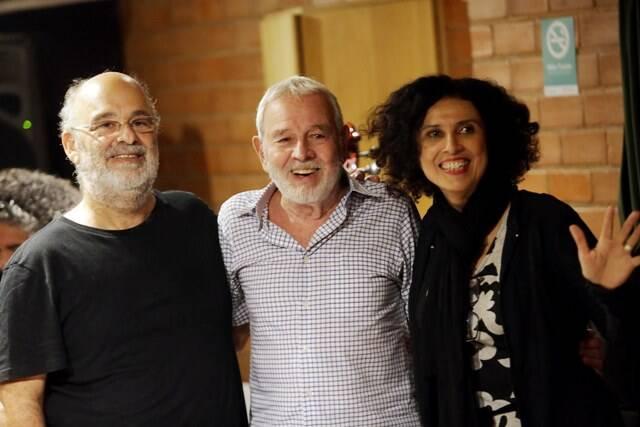 Carlinhos Lyra entre Jaques e Paula Morelenbaum: show no Parque Madureira, no Dia das Mães, às 18h30
