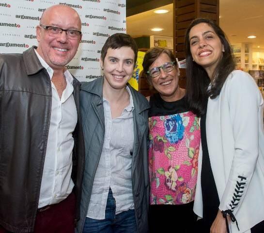 Roberto Conduru, Adriana Calcanhoto, Cláudia Pinheiro e Ana Cecília Martins_1