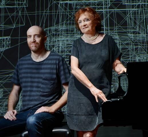 Muti Randolph e Clara Sverner: os dois gravam o DVD Sinestesia esta quinta, na Sala Cecília Meireles / Foto: Camila Maia