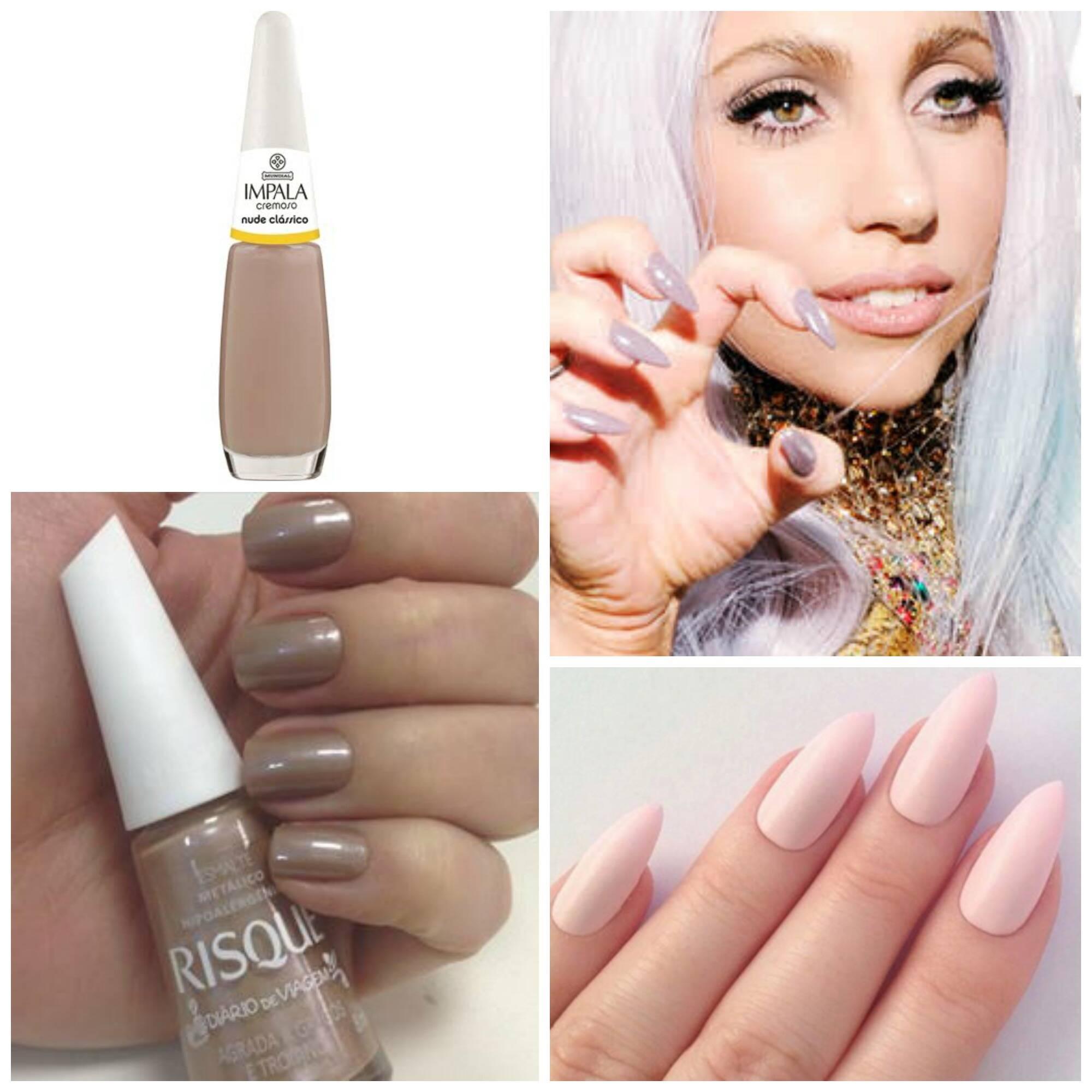 Na foto, a cantora Lady Gaga com suas poderosas unhas stiletto