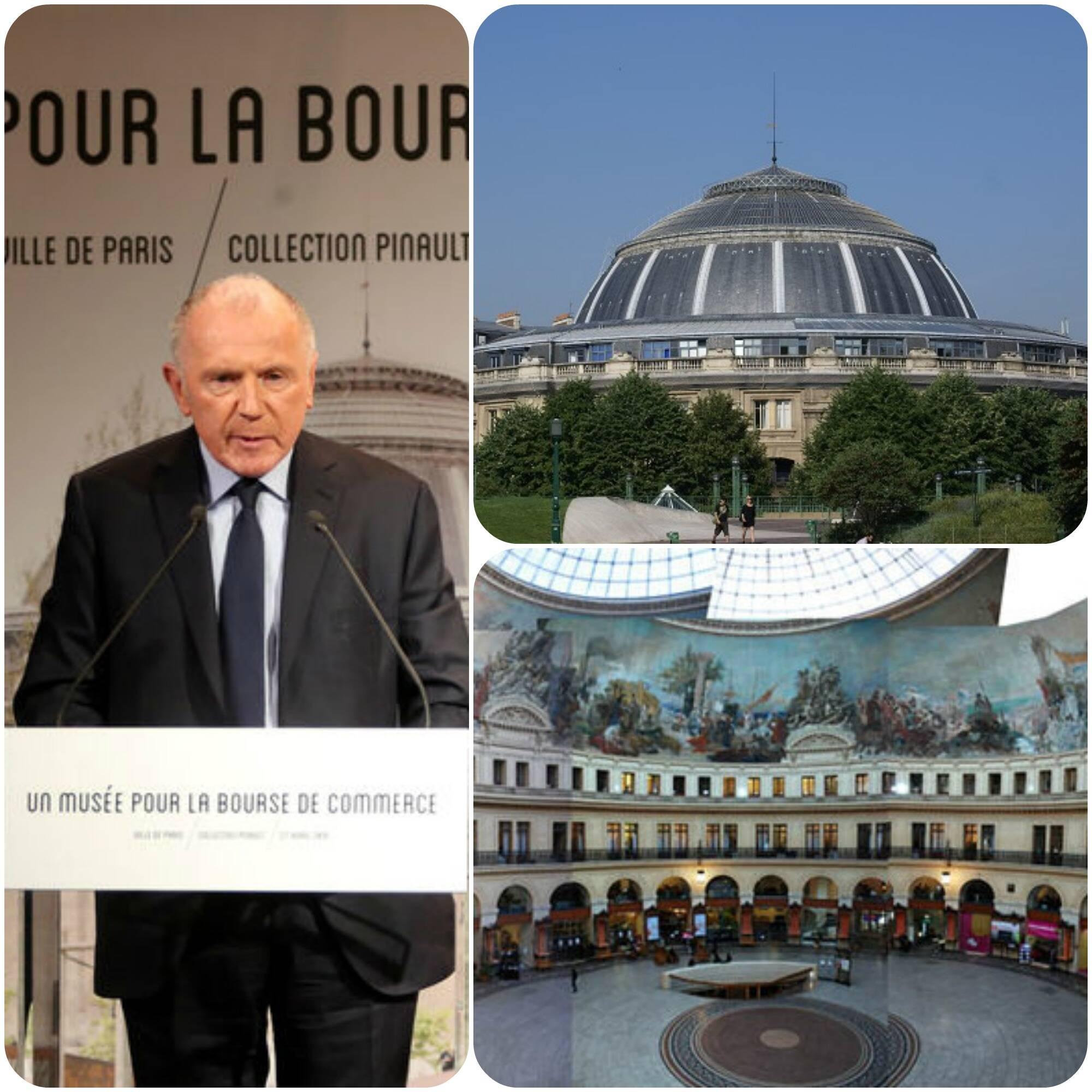 Inauguração de museu, no Bourse de Commerce, em Paris, está prevista para 2018
