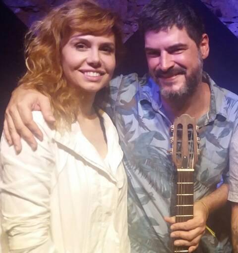 """Thaís Gulin e o cantor, compositor e videomaker Mihay: juntos na música """"Golpe Baixo"""" / Foto: divulgação"""
