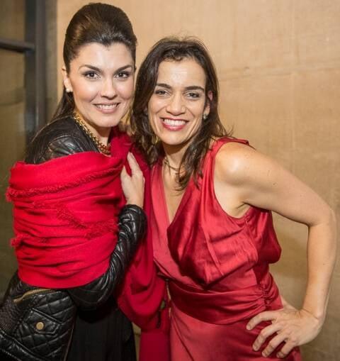 A cantora lírica Angélica de la Riva e Simone Leitão, no último espetáculo do Festival de Câmara na Barra / Foto: Daniel Ebendinger