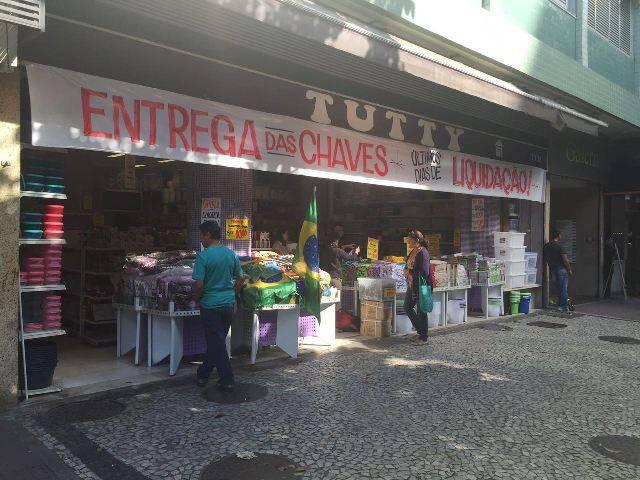Loja de artigos populares para casa, em Ipanema, pode fechar a qualquer momento / Foto: do leitor