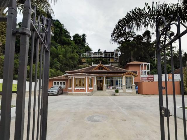 O prédio em Petrópolis que era da Casa de Cultura Aguinaldo Silva reabre, nesta quinta, apenas como restaurante / Foto: reprodução da internet
