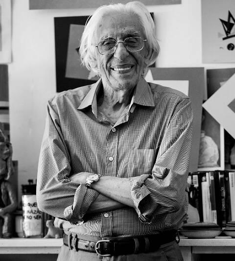 No BNDES, nesta sexta-feira (24/06), no Centro do Rio, uma oportunidade rara de conhecer melhor o poeta Ferreira Gullar / Foto: Marcelo Magalhães