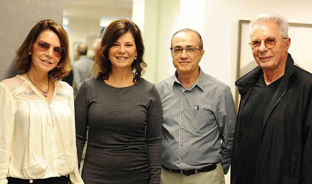 Patricia Mayer Paula Neder Ronaldo Lo Bianco e Marcio Braga