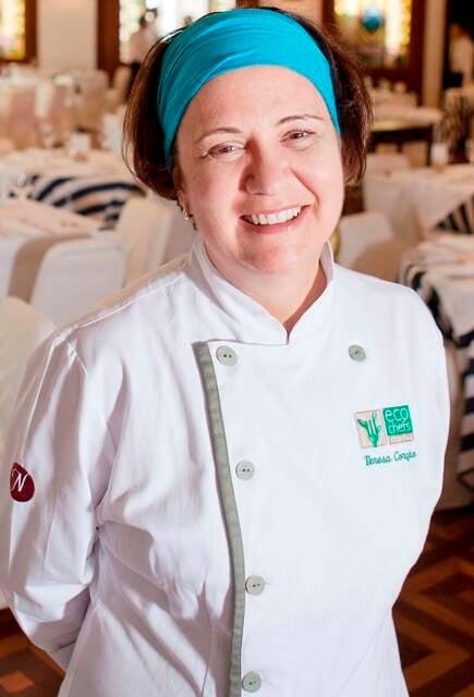 Teresa Corção: a chef foi indicada ao Basque Culinary World Prize, que vai ser anunciado em julho / Foto: divulgação