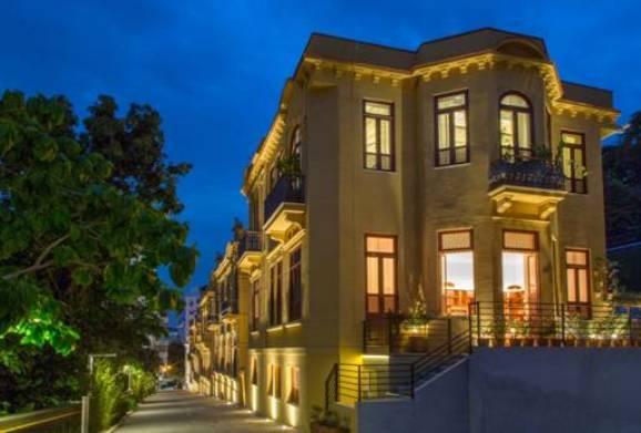 A Villa Aymoré: a ideia dos proprietários é tornar os nove casarões da Glória um ponto de encontro de cultura na cidade / Foto: divulgação