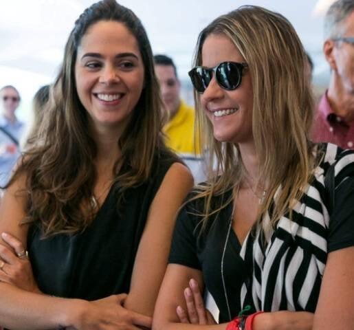Maria Luiza Marques e Celina Peixoto de Castro Palhares: sócias (de famílias tradicionais cariocas) abrem loja no subúrbio do Rio / Foto: Bruno Ryfer (arquivo Site Lu Lacerda)