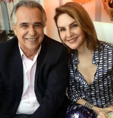 Roberto d'Ávila e Anna Victoria Lemann: fim do romance entre o jornalista e a empresária / Foto: Cristina Granato (arquivo Site Lu Lacerda)