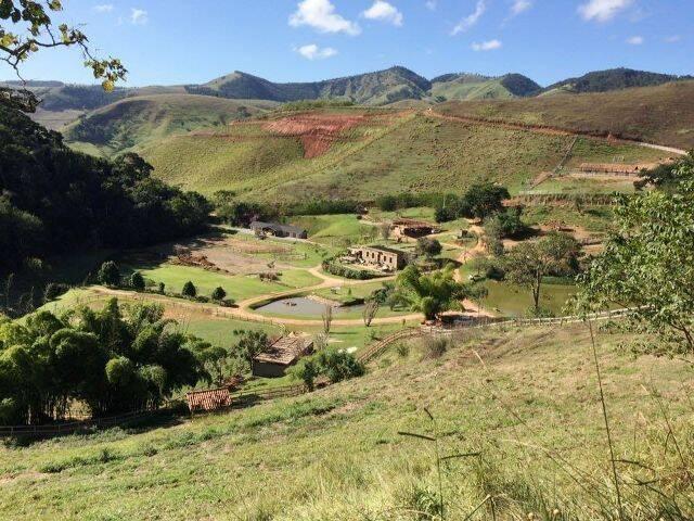 A fazenda na Serra de Pedroso: topografia do lugar favorece os passeios a cavalo / Foto: divulgação