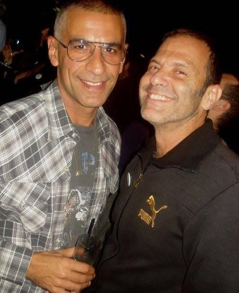 Marcelo Argento e Aloisio de Abreu em imagem publicada neste site (em 2010) / Foto: Dani Barbi