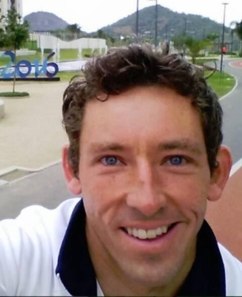 O campeão de canoagem David Florence: um dos vários atletas que estão elogiando as instalações da Vila dos Atletas, na Barra / Foto: reprodução do Instagram