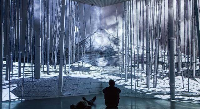 O trabalho de Lemercier, ainda sem as projeções / Foto: divulgação