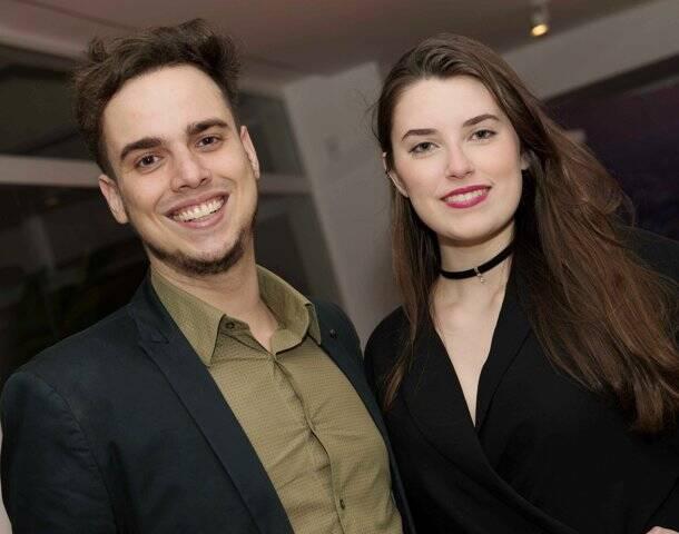 Matheus Vieira e Luiza Repsold