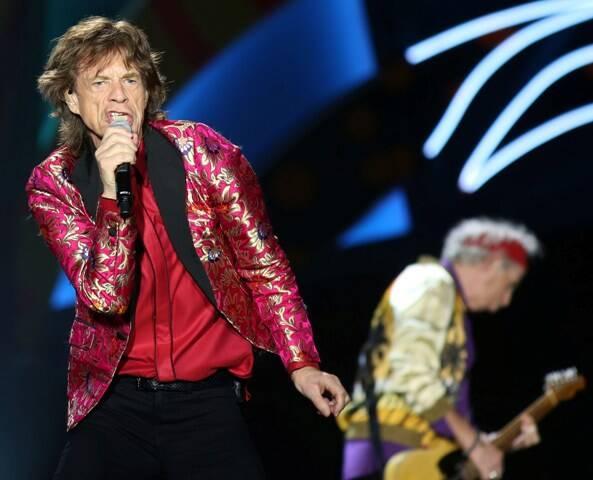 Mick Jagger: vocalista dos Rolling Stones vai ser pai aos 72 anos / Foto: Marcos de Paula (arquivo Site Lu Lacerda)