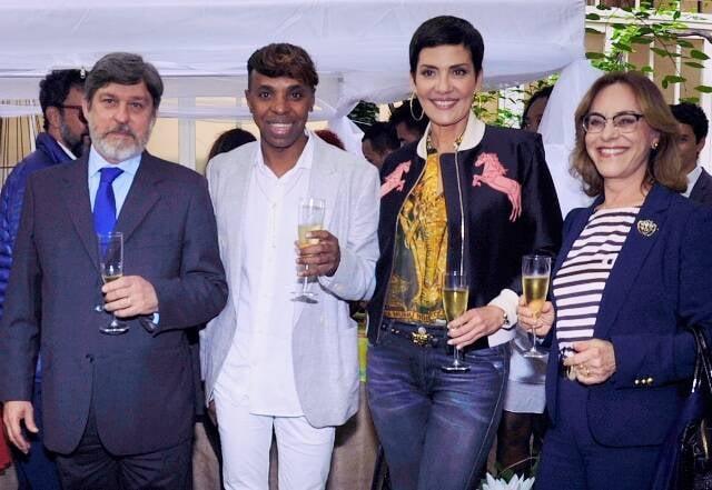 Paulo de Oliveira Campos, Robertinho Chaves, Cristina Cordula e Maria Edileuza Fontenelle