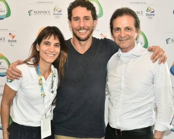Ana Paula Niemeyer, Flávio Canto e Renato Rique