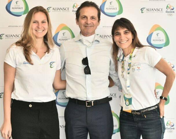 Isabela Marchon, Renato Rique e Ana Paula Niemeyer