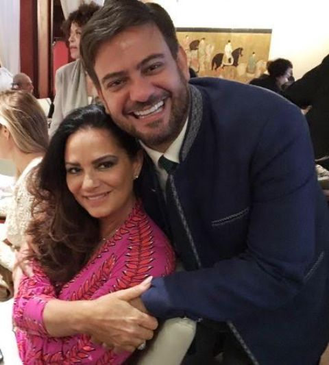 Luiza Brunet e Bruno Astuto: primeira aparição social da modelo desde que denunciou o namorado, Lirio Parisotto / Foto: Lu Lacerda