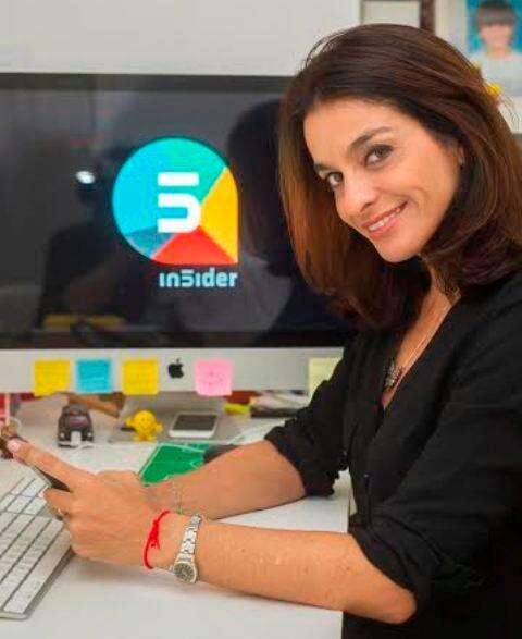 Luiza Figueira de Mello: rede de dicas sobre o Rio já reúne 25 mil usuários / Foto: divulgação