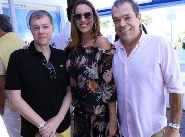 Paulo Vieira, Henrique e Adriana Cavalcanti