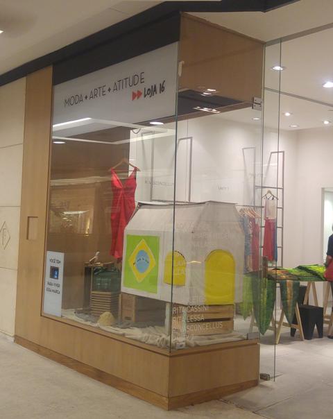 A loja temporária de produtos mineiros abre nesta quarta-feira, no Fashion Mall, festejando a Olimpíada / Foto: divulgação